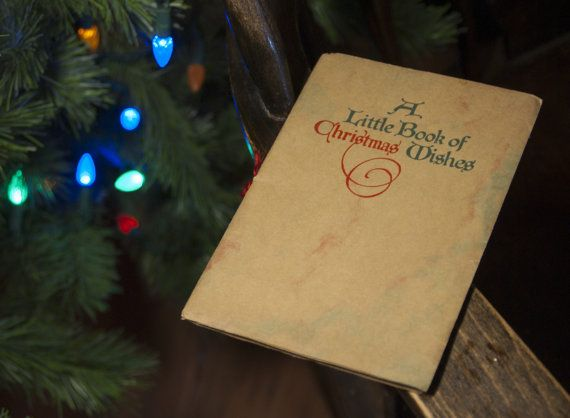 1909 A Little Book of Christmas Wishes by StateStreetSadie on Etsy