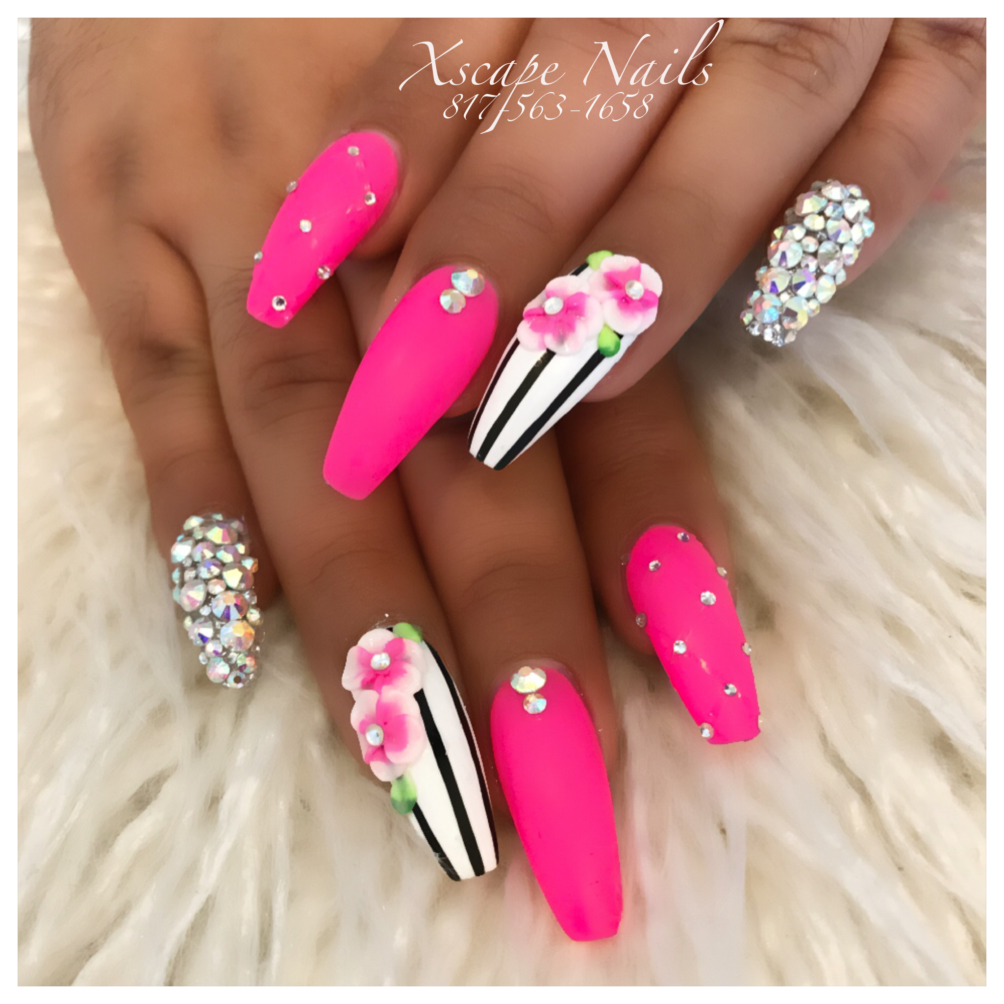 Pink matte nails | Cute Nails Designs | Pinterest | Matte nails