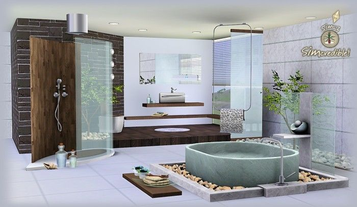 sims 3 bathroom ideas pinterdor Pinterest Bathroom designs - ideen f amp uuml rs badezimmer