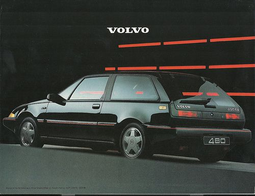 Volvo 480 Brochure 1987 Volvo Cars And Volvo Cars