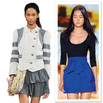 the blue skirt <3