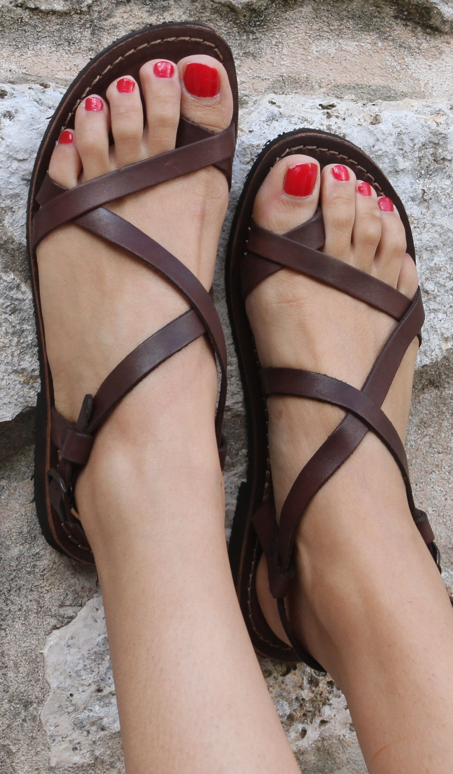 e9ab563cb Jullymart Comfy  amp  Cute Shoes 0217 – Page 2 – jullymart Brown Leather  Sandals