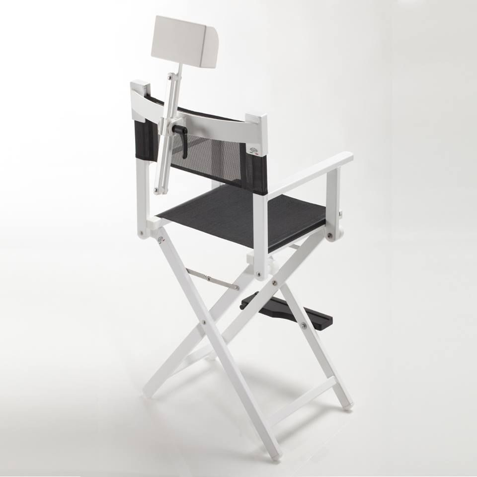 Frozenwhite chair for makeup artist chair s102ab is