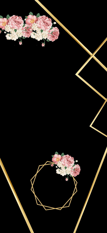 تقويم تاريخ ذهبي 2019فلتر زواج Sticker By Mesh 8mr Phone Wallpaper Design Floral Wallpaper Phone Flower Phone Wallpaper