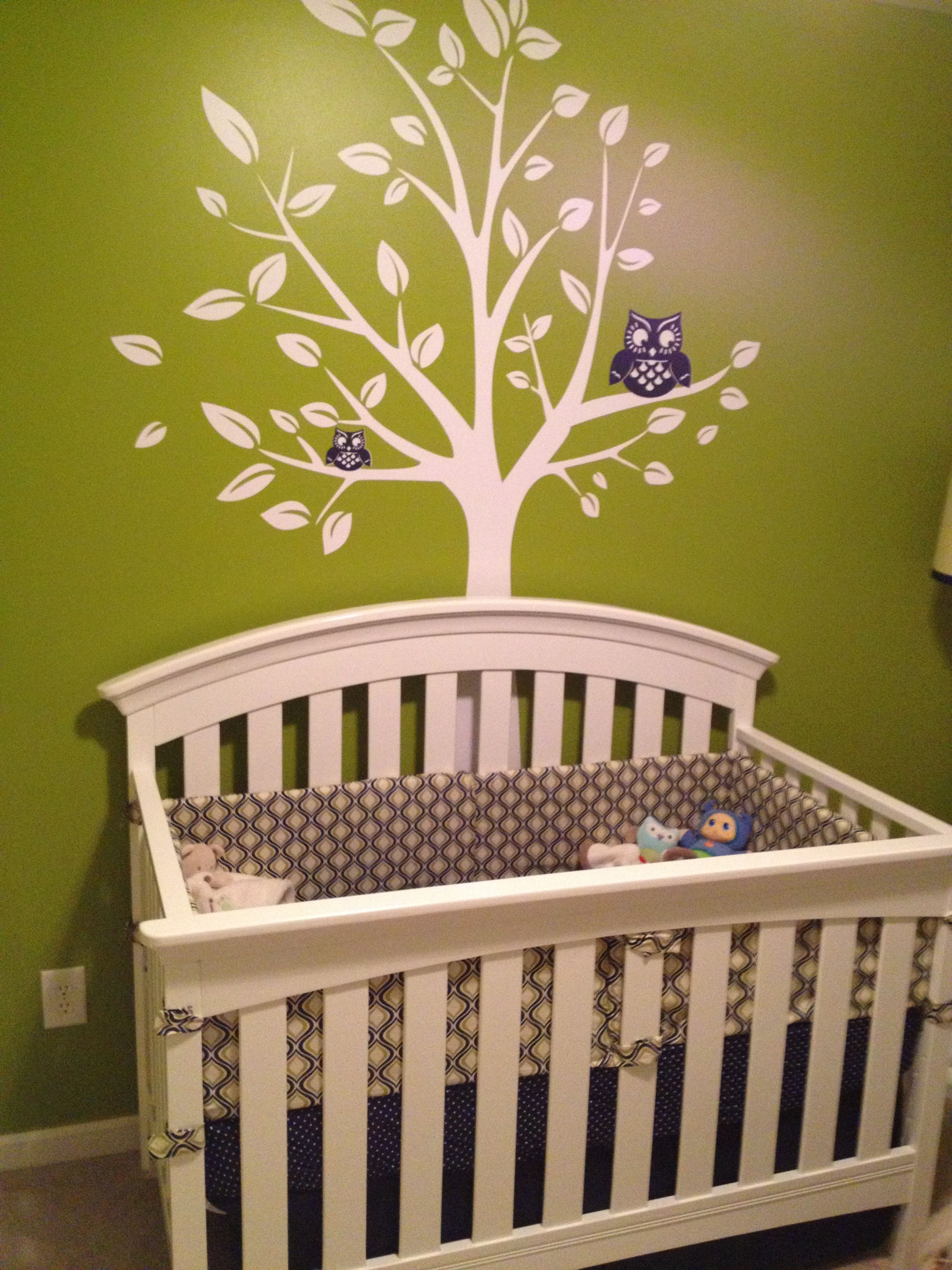 Woodlands baby boy nursery