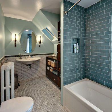 Merveilleux Bathroom Subway Tile Design, Pictures, Remodel, Decor And Ideas   Page 7