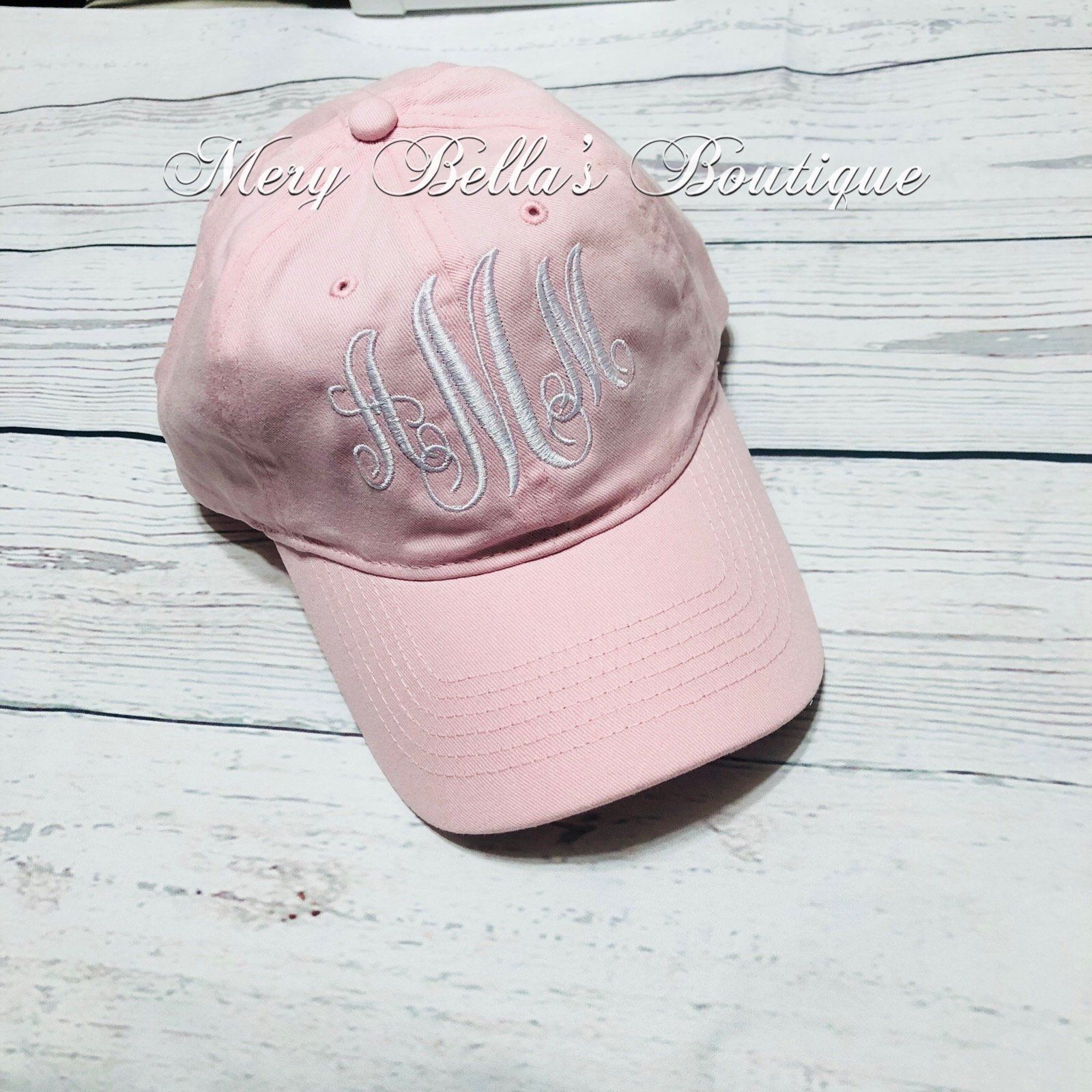 075f9cc705a Monogrammed hat