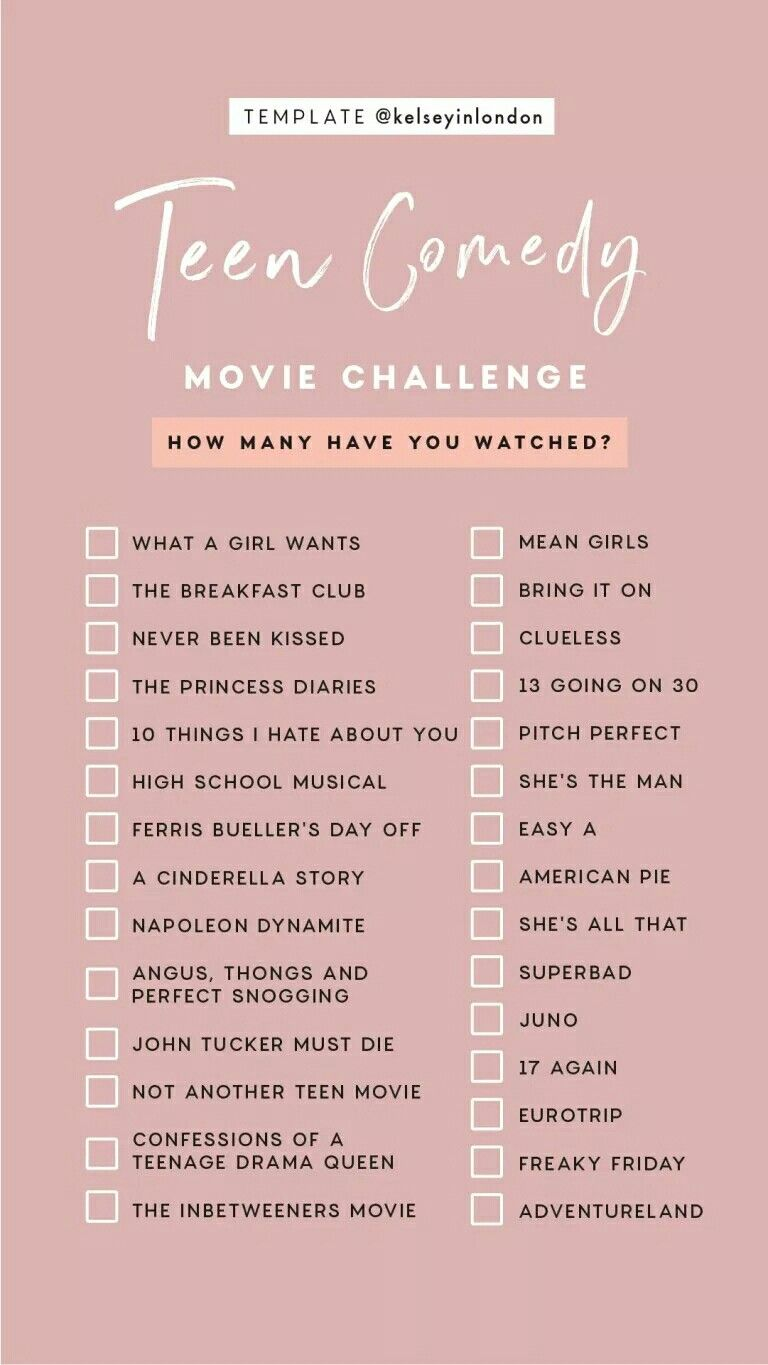 Technically have watched all but 2 of them bored me so I stopped watching #moviestowatch