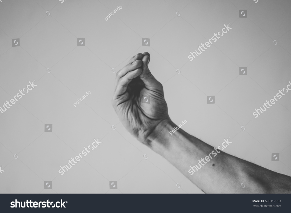 Italian Hand Gestureswhat You Talking People Stock Image 690117553 Photo Editing Stock Photos Stock Images