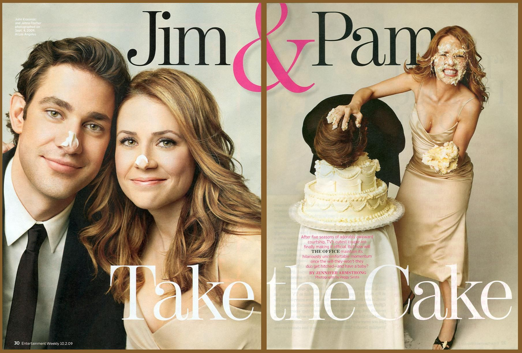 Yep That Would Be Jim And Pam Jim And Pam Wedding The Office Wedding Jim Pam