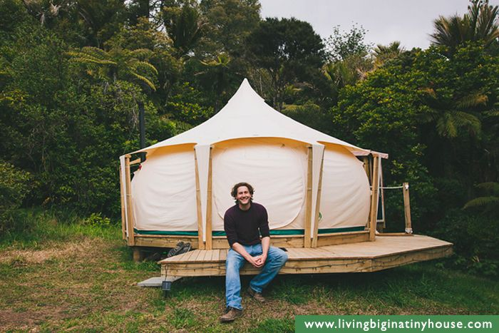 If youu0027ve ever dreamed of escaping to live in a luxury tent then this is the space for you! A Lotus Belle tent is a great option for alternative lu2026 & If youu0027ve ever dreamed of escaping to live in a luxury tent then ...