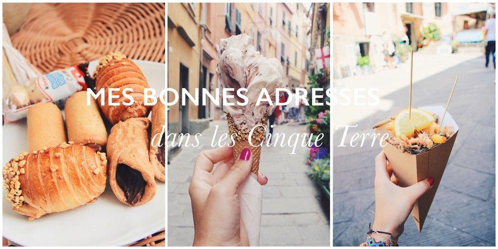 Avant de clôturer mon séjour dans les Cinque Terre, j'ai tenu à vous donner  mes adresses gourmandes préférées de ces magnifiques villages côtoyés  durant ces quelques jours en Italie.  On sait généralement, que lorsque l'on part en Italie, on va se régaler. La  cuisine italienne est pour moi l