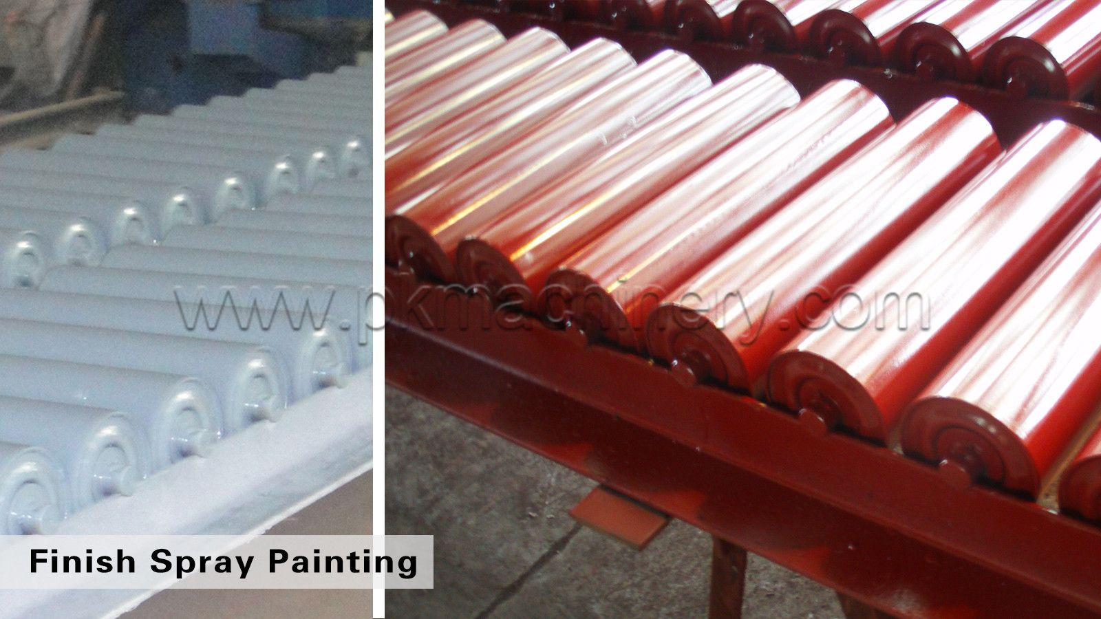 Www Pkmachinery Com Spray Painting Roller Rain Cover