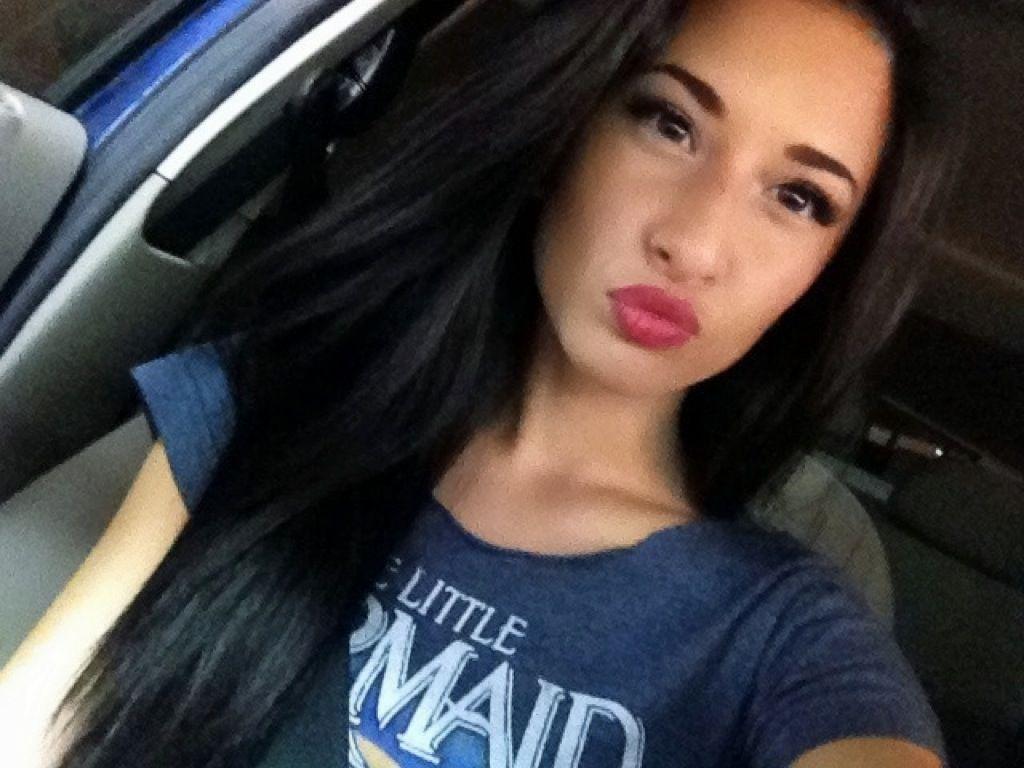Dark hair burgundy lip and a light smokey eye  Makeup