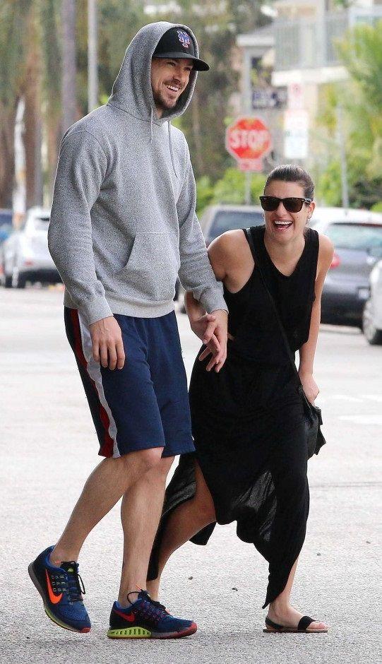 Lea Michele – Shopping at West Elm in LA