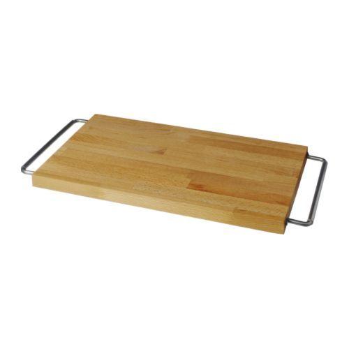 Ikea Spülen domsjö schneidebrett buche edelstahl kutilství