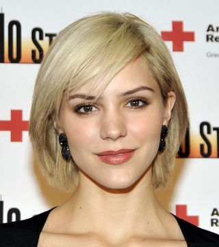 Hairstyles For Heart Shaped Face any short hairstyles for heart shaped faces can be enhanced by including highlights and lowlights highlights and lowlights help to give your hair the Katharine Mcphee Face Shape Hairstyle Cropped Proto Custom_9jpg 320