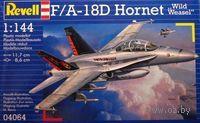 "Учебно-боевой самолет ""F/A-18D Wild Weasel"" (масштаб: 1/144)"