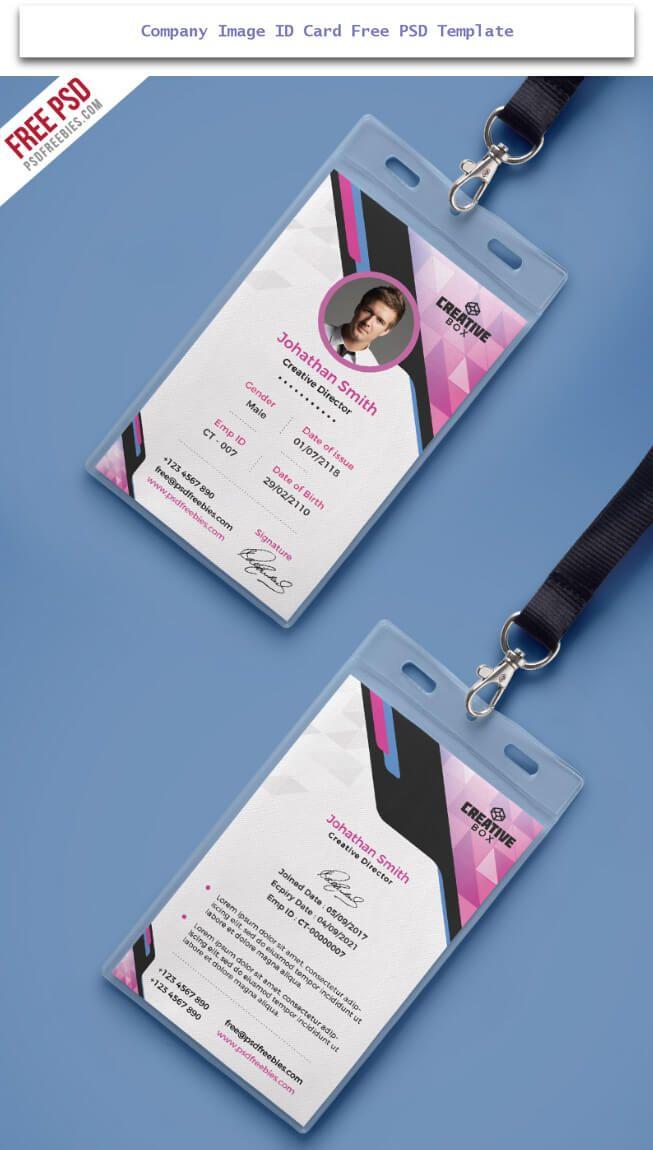 30 Creative Id Card Design Examples With Free Download Tech Trainee Kartu Nama Desain Undangan Perkawinan Desain Grafis