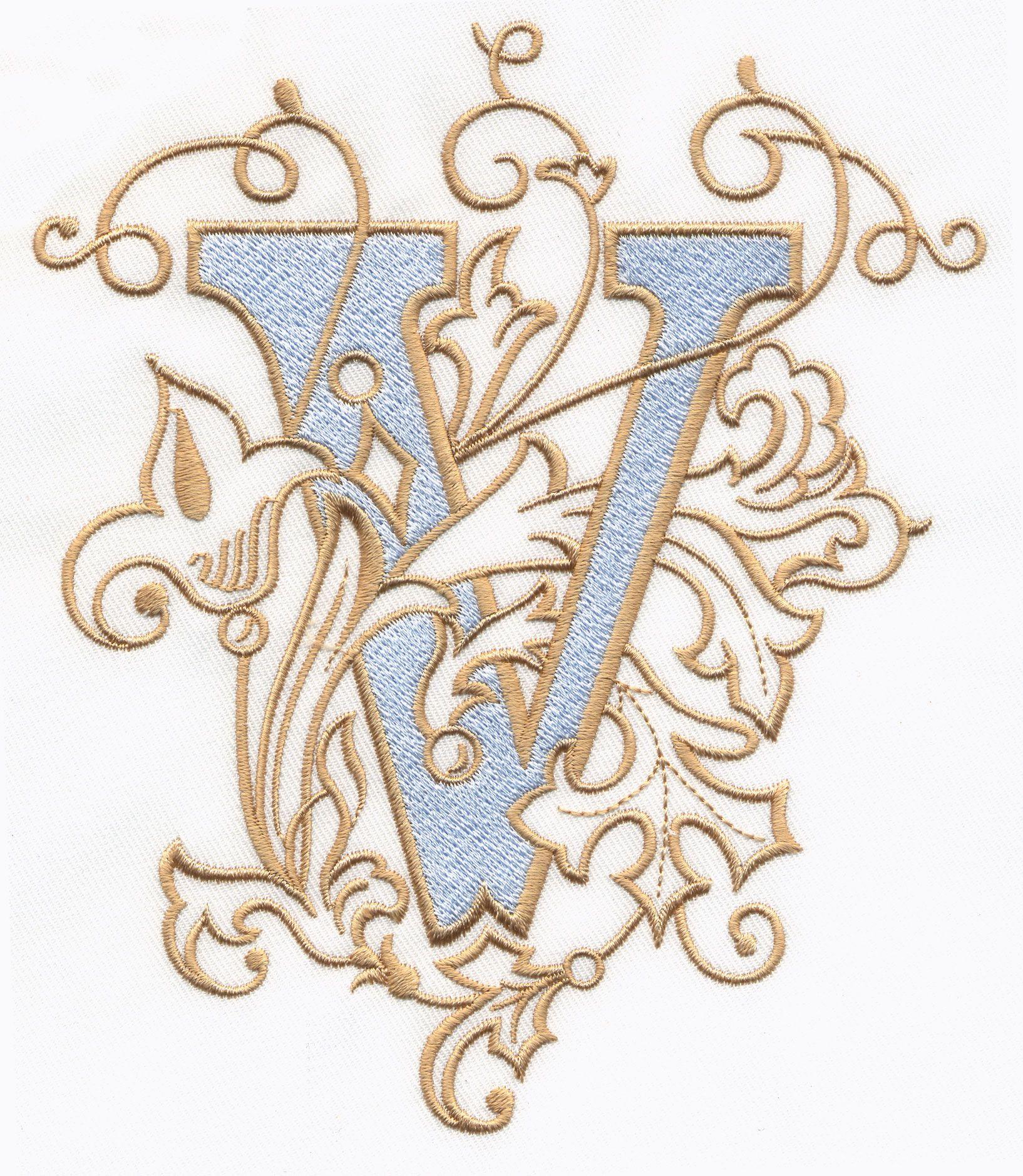 Vintage Royal Alphabet Amp Accent Designs Alphabets