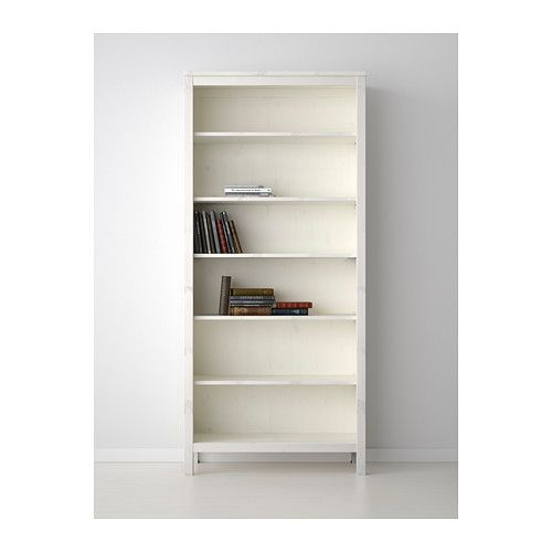 HEMNES Bookcase IKEA Solid wood has a natural feel. The shelves are  adjustable so you