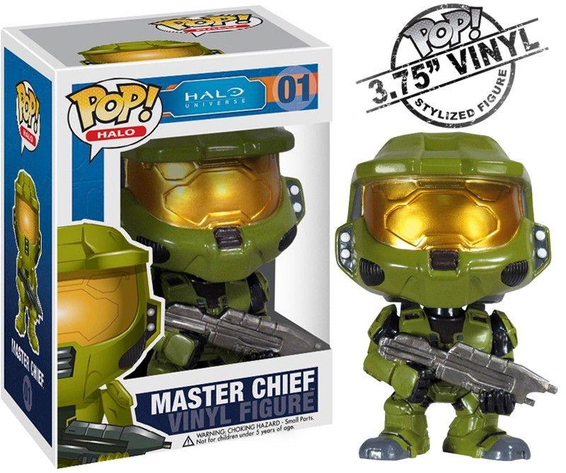 Master Chief Pop Vinyl Pop Halo | Pop Price Guide