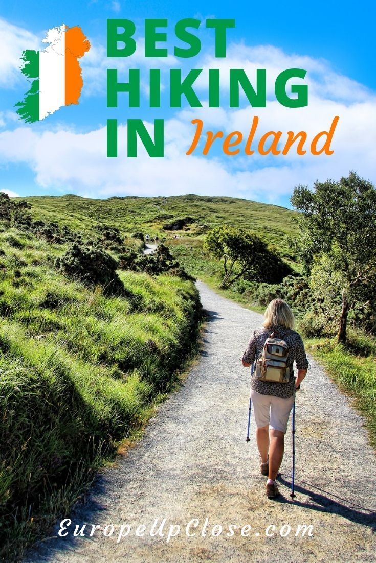 Ireland is a great hiking destination. Here are the top Hikes in Ireland and helpful tips to organize your hiking trip in Ireland. #Hiking #Irland #Irish #Hiker #Outdoors #Travel #activetravel #Hiker #Europe #Europetrip #Trip #traveling #traveler #traveller #travelling