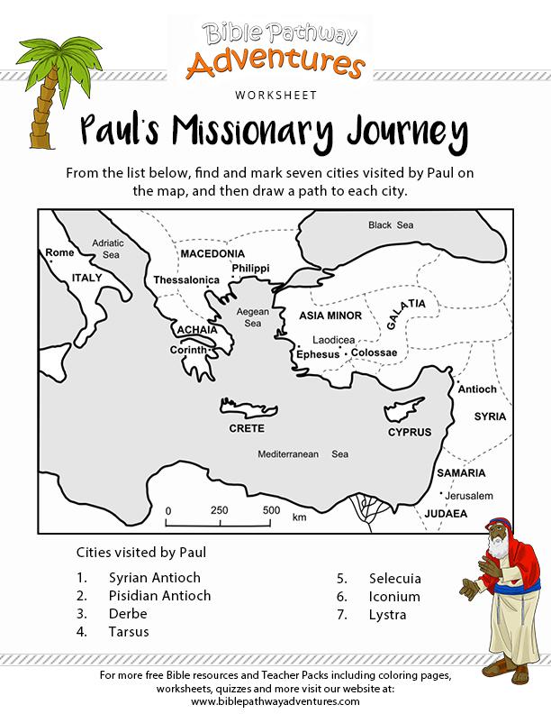 paul's missionary journey  paul's missionary journeys