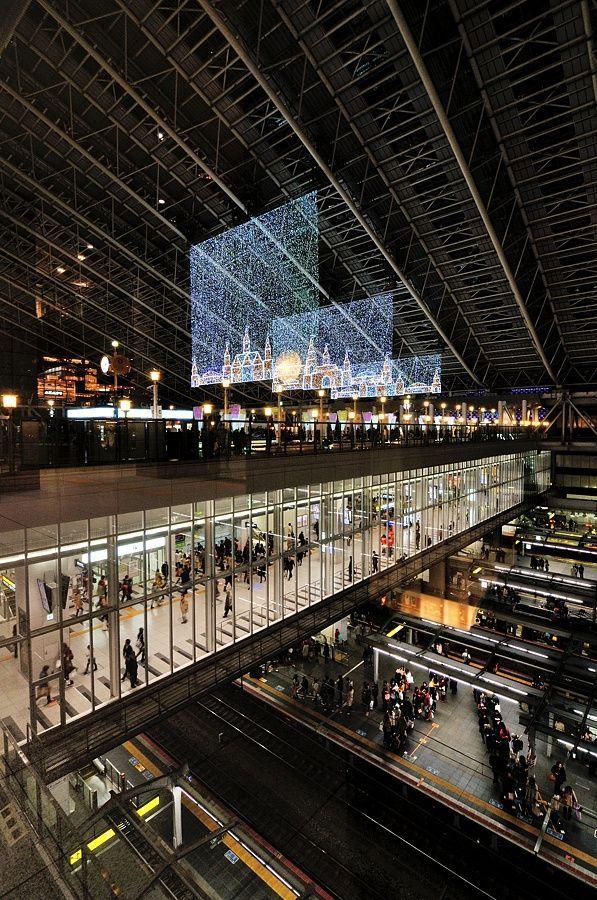 トワイライトファンタジー 2013 JR Osaka Station, Japan 大阪駅 or visit  by JR Osaka Station, Japan 大阪駅 or visit  by