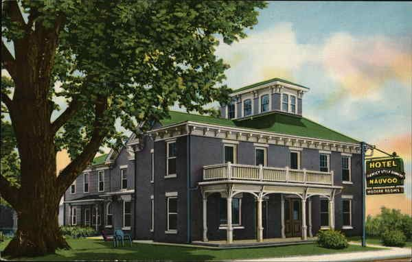 Hotel Nauvoo Illinois Postcard