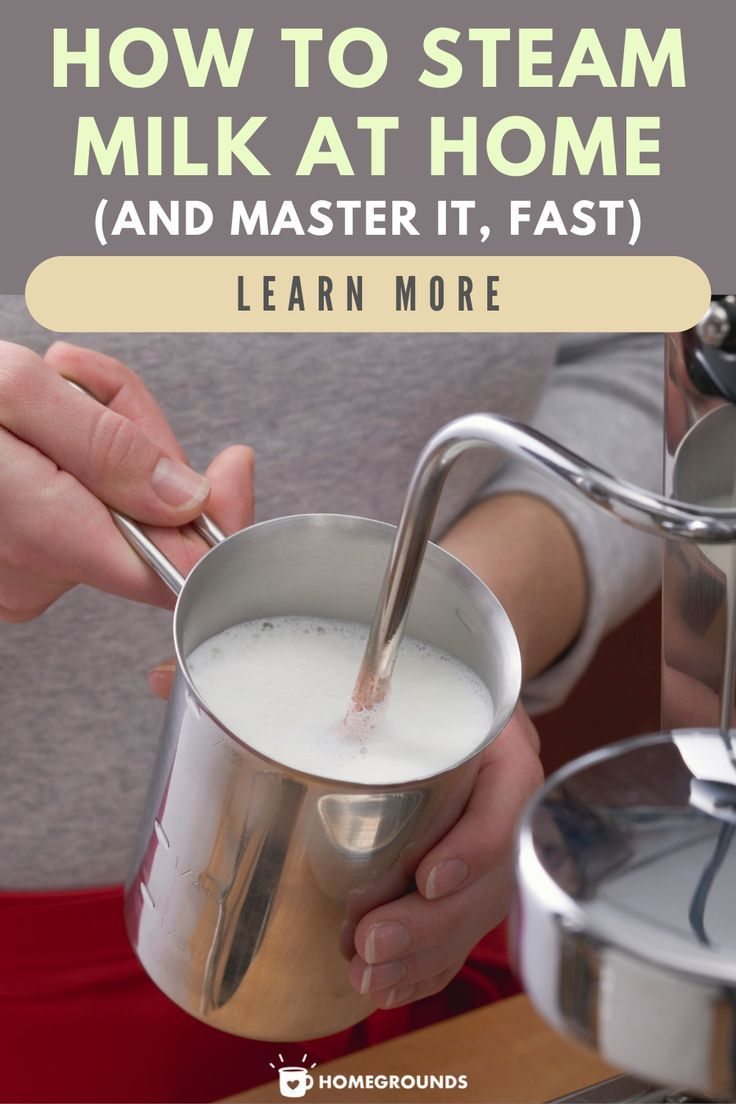 How to steam milk at home and master it fast in 2020