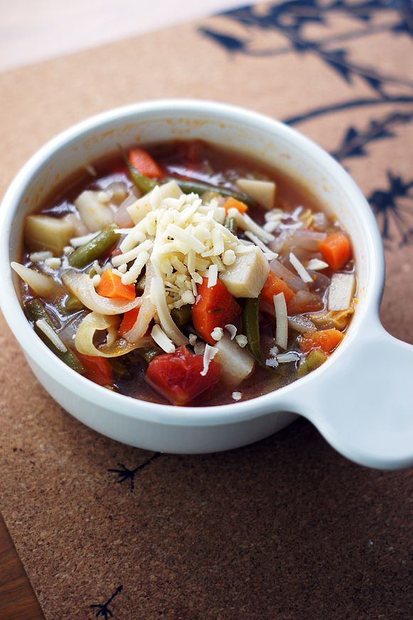 Dinner Party For Four Menu Ideas Part - 22: Four Course Italian Dinner Party Menu - Minestrone