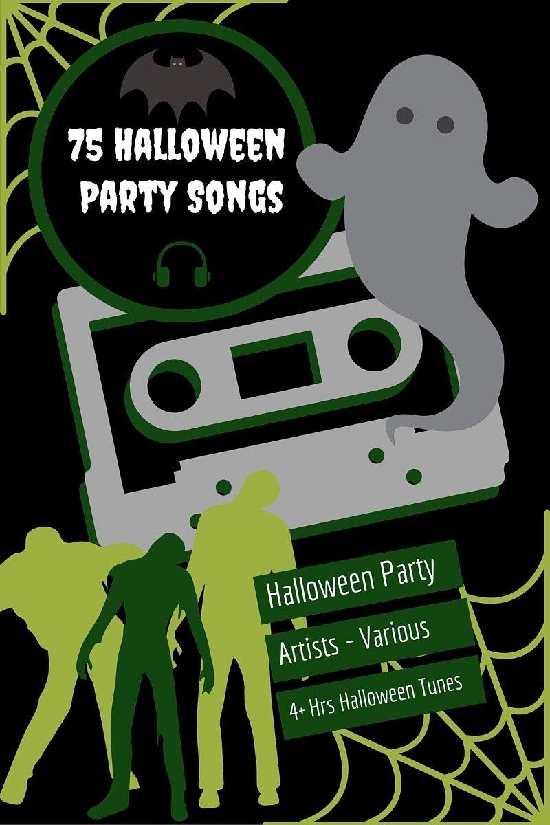 75 Halloween Party Songs Spotify Playlist Halloween
