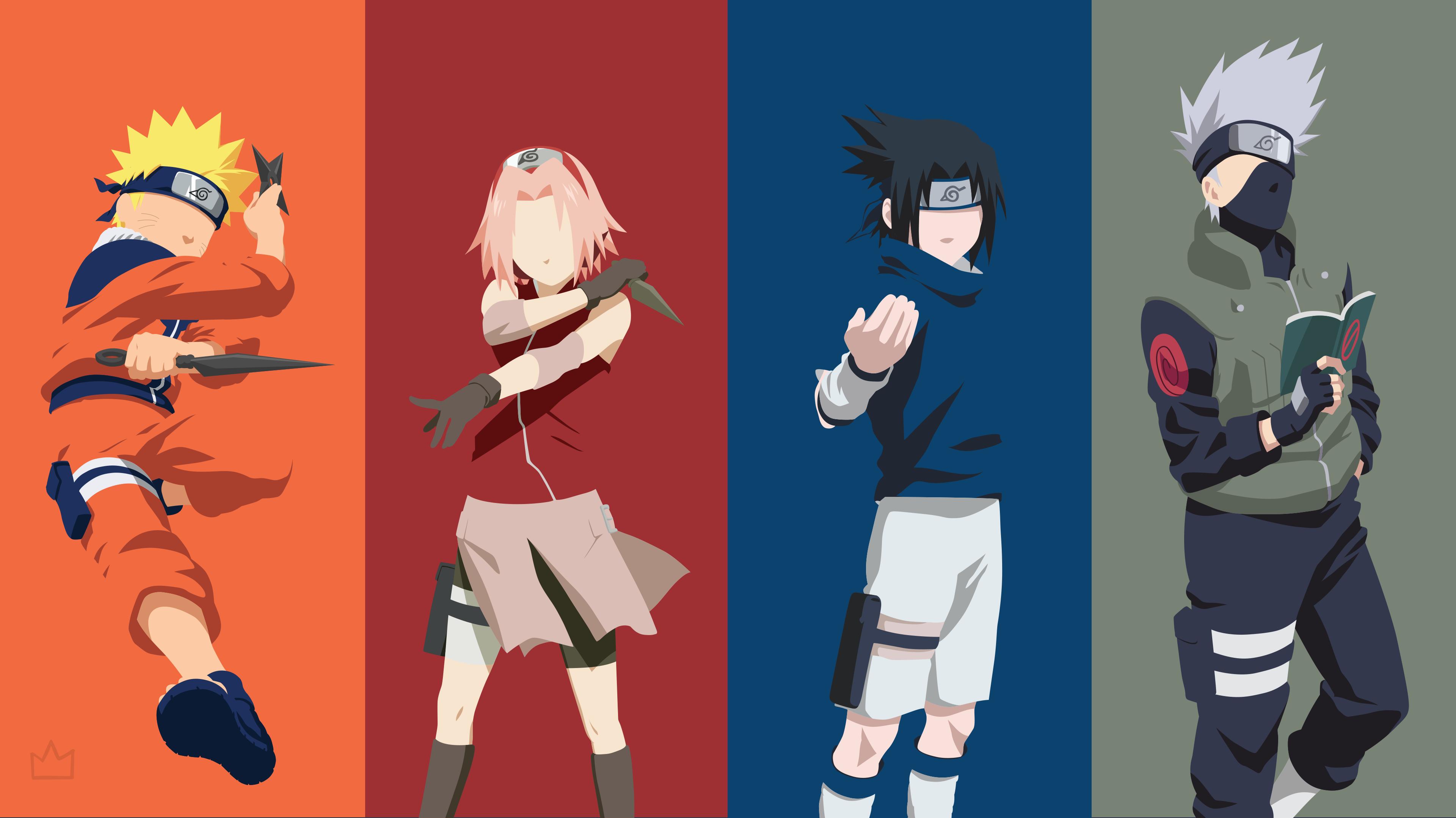 Squad 7 Naruto Naruto Sasuke Sakura Wallpaper Naruto Shippuden Anime Naruto