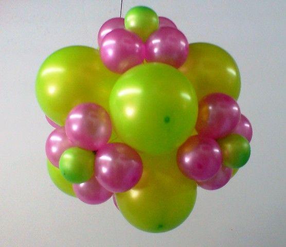 como hacer con globos flores imagui - Como Hacer Flores Con Globos