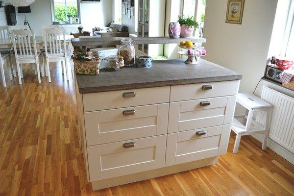 ikea del kakel med fasade kanter k k pinterest k ks k k och f r hemmet. Black Bedroom Furniture Sets. Home Design Ideas