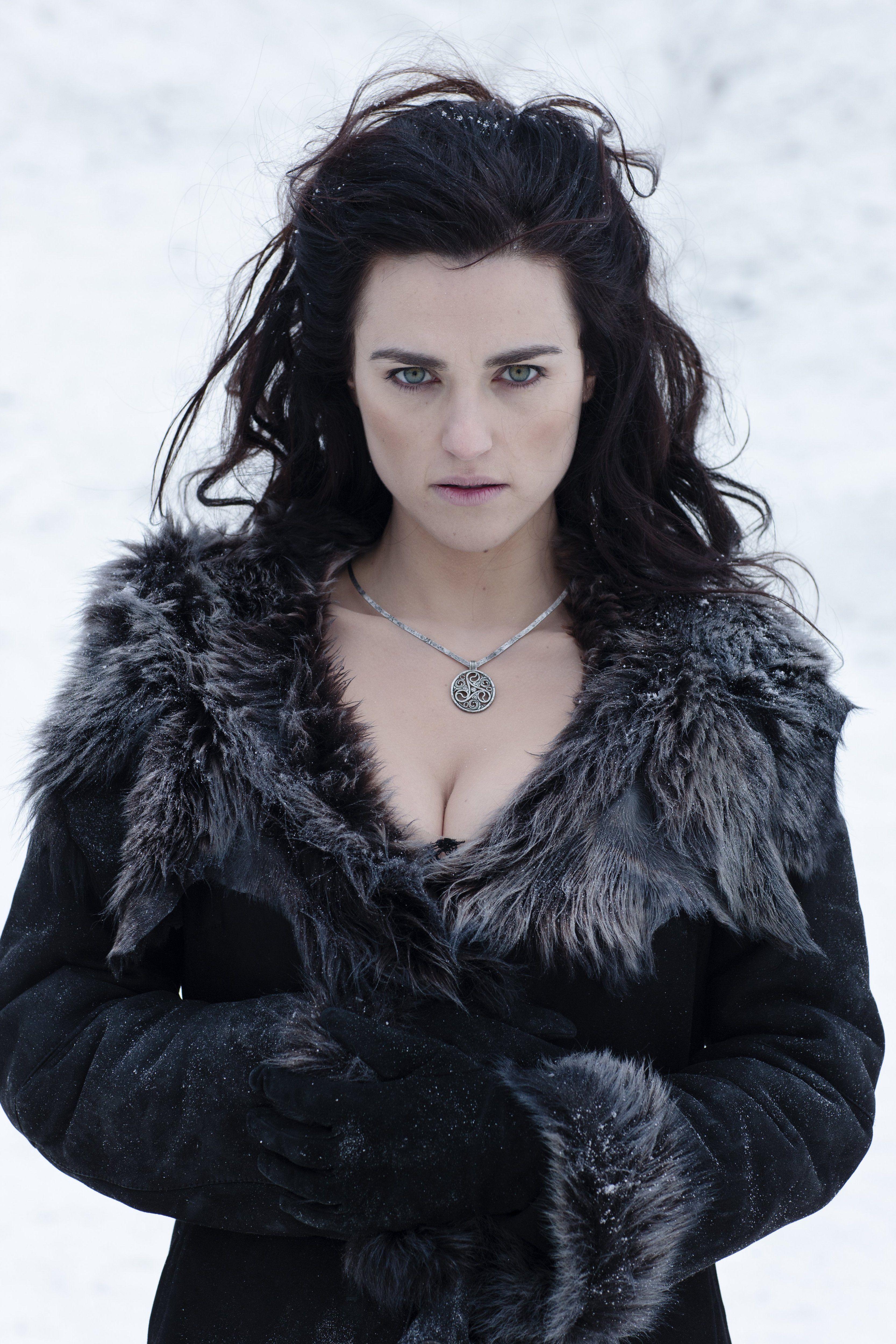 Katie McGrath as Morgana in Merlin (sesason 5) | #Black #