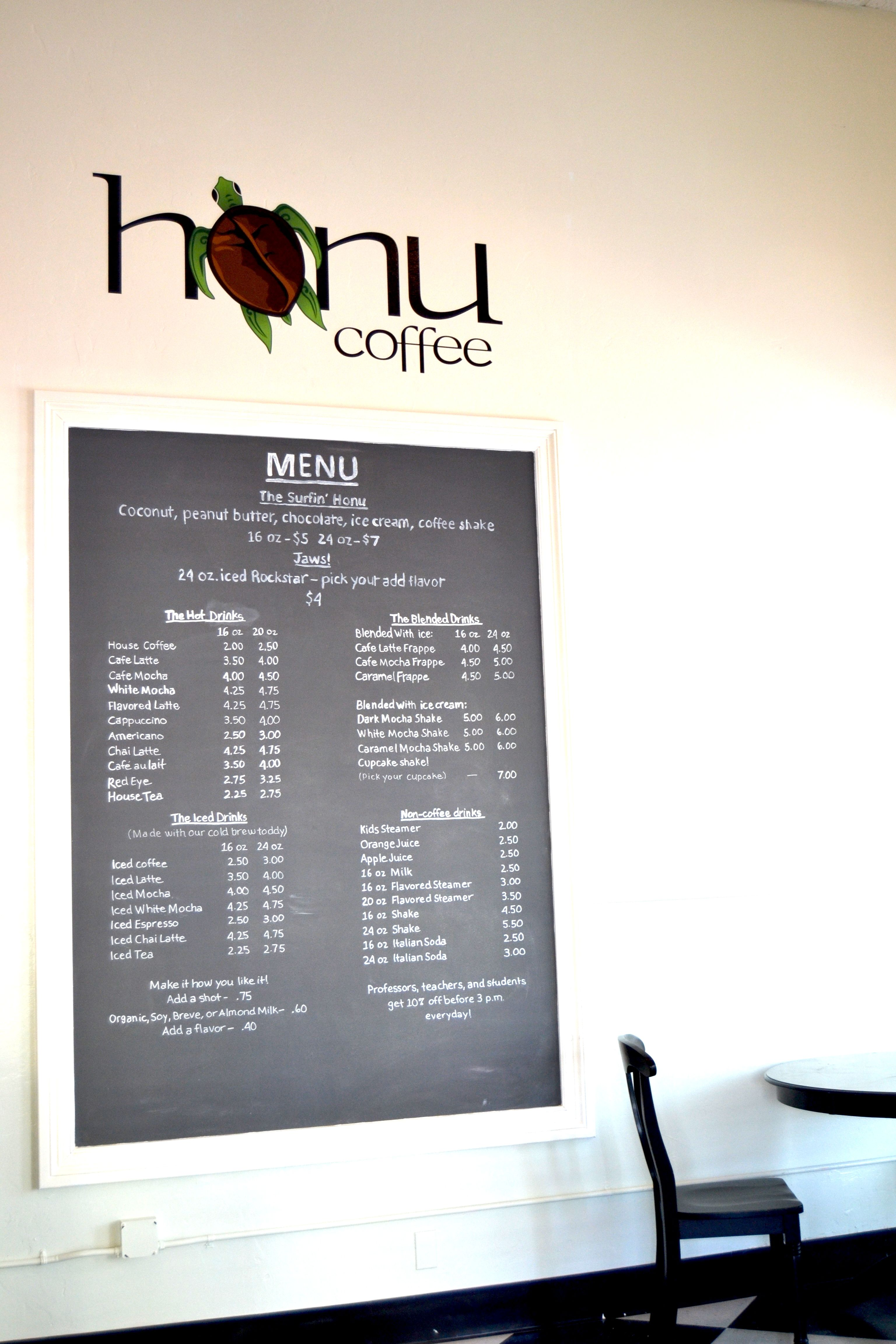 Honu Coffee Now Blending In Newhall Scv Eats With Lady Ducayne Coffee Menu Newhall Eat