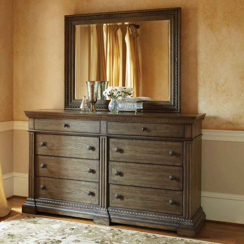 Legacy Classic Renaissance 8 Drawer Dresser with Optional Mirror - LGC1856
