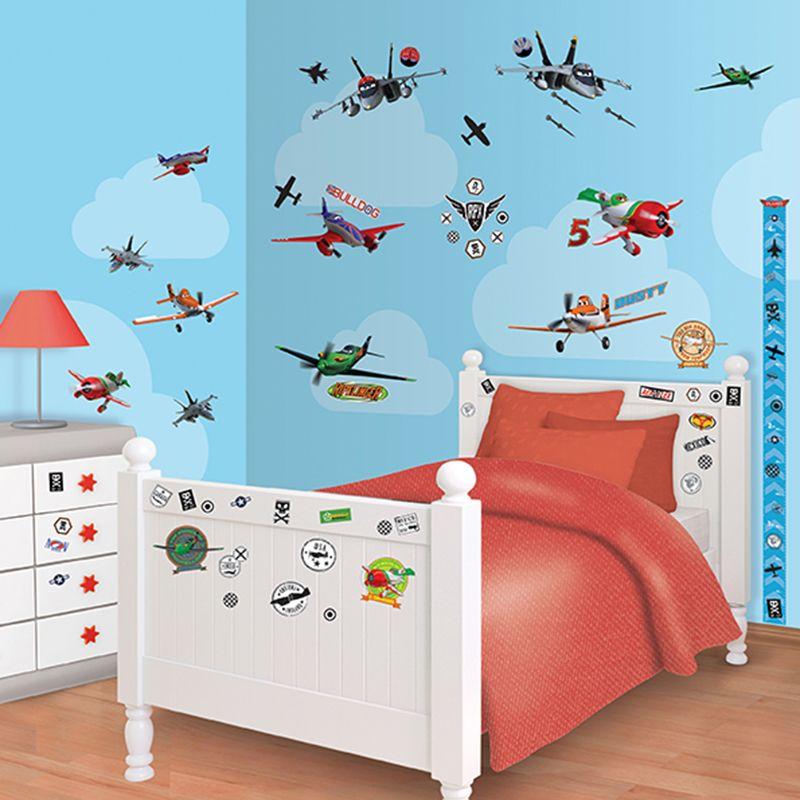 Walltastic Disney Planes Room Decor Kit