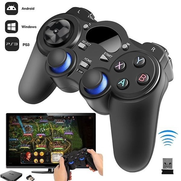 2 4G Wireless Gaming Controller Gamepad for Android Tablets