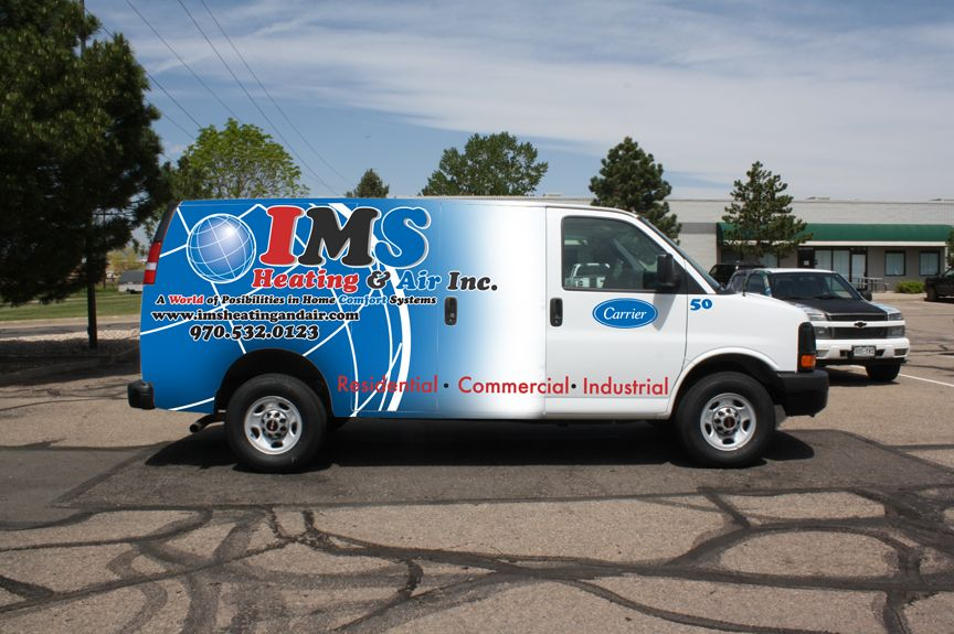 Heating And Air Condition Full Van Wrap Heating And Air