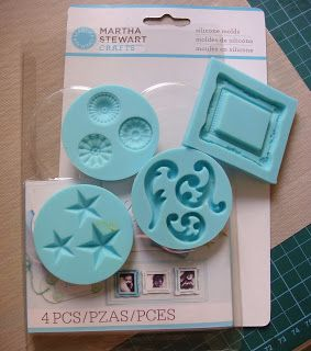 Antique Key Molds for Crafters Clay Martha Stewart Crafts Paper Crafting NEW
