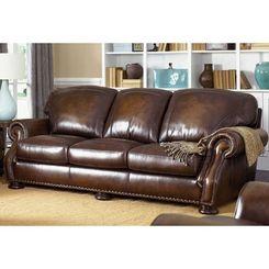 Carolina Rustica Genuine Leather Sofa Leather Sofa Set Leather Sofa