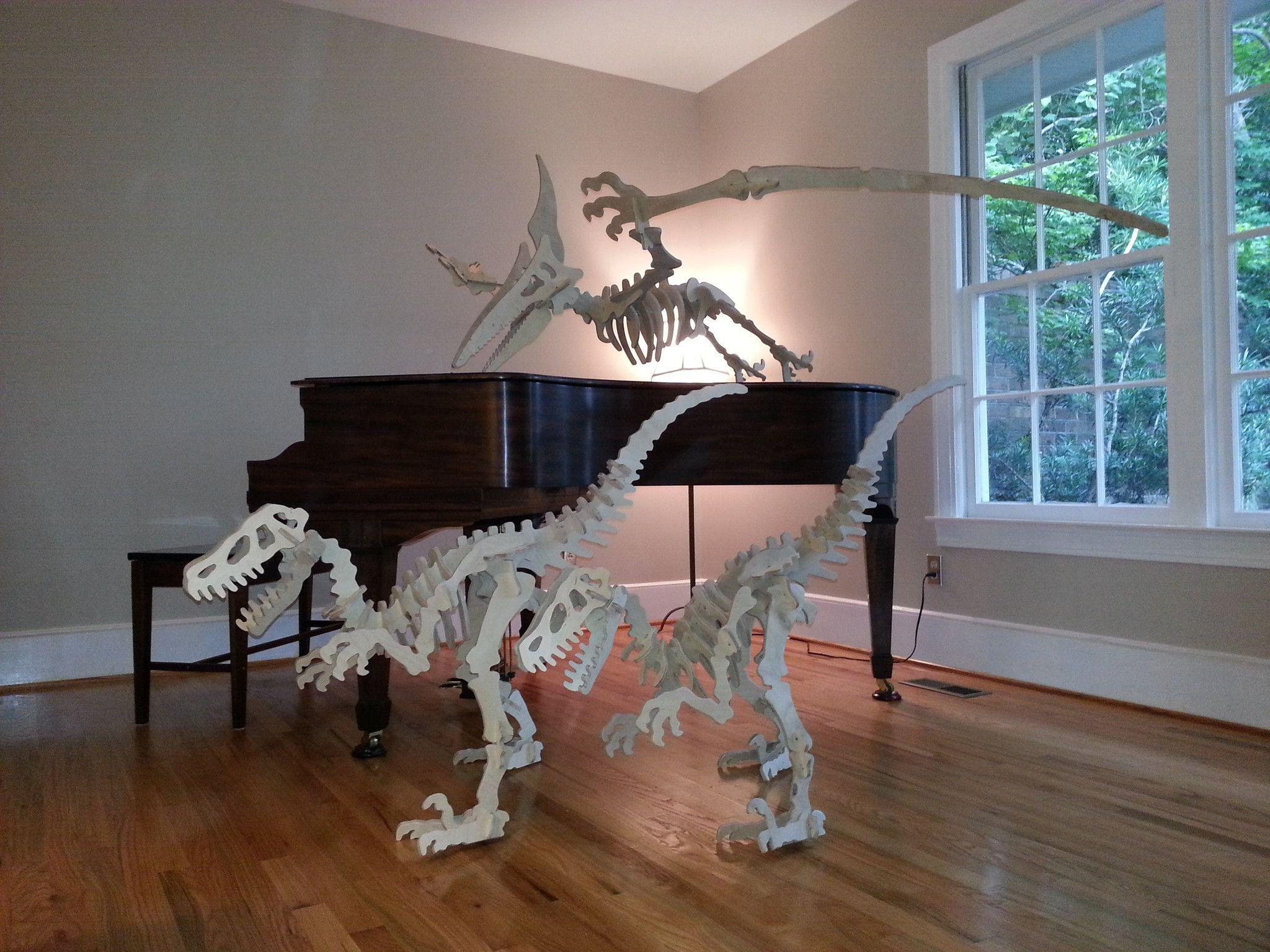 Pterodactyl 3d Dinosaur Puzzle