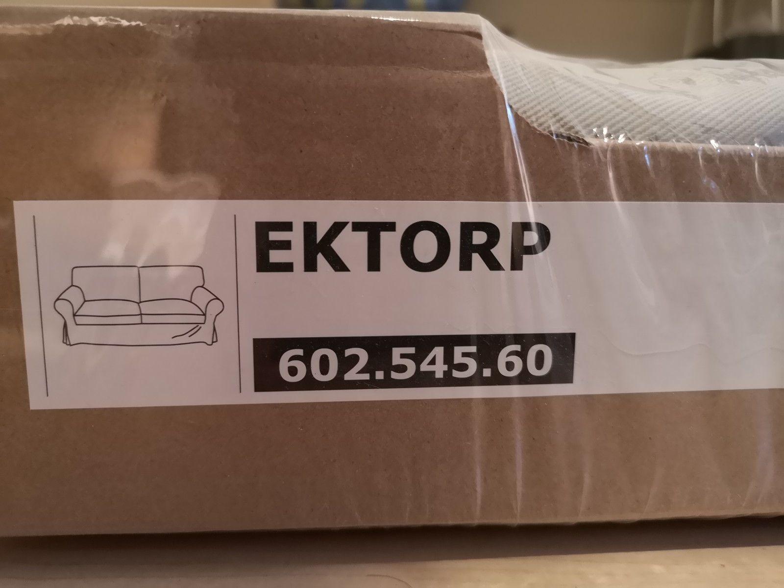 Ikea Ektorp Bezug 2er Sofa In Tygelsjö Beige Neu Ovp Ikea