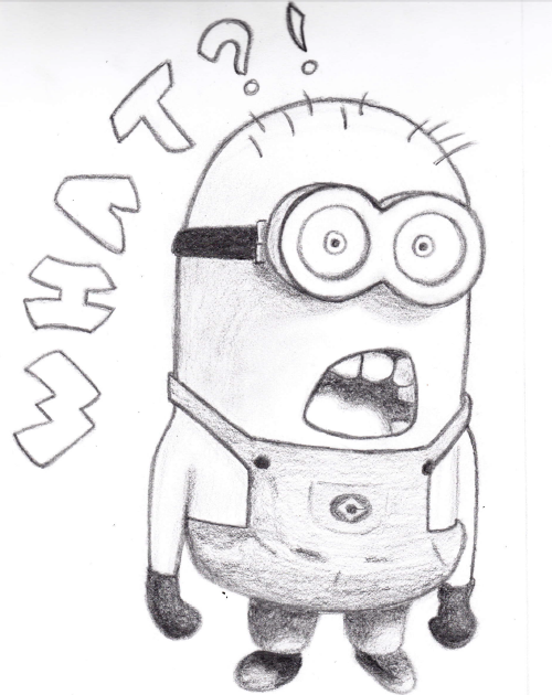 Despicable Me Archives - How to Draw Step by Step Drawing ...  Easy Minion Pencil Drawings