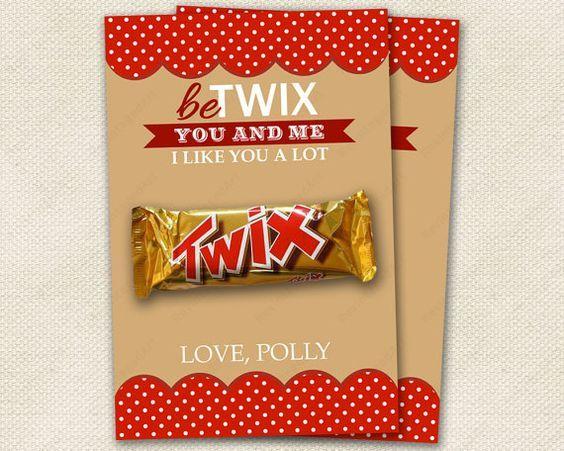 valentine twix valentines 2015 heart valentines valentine cards