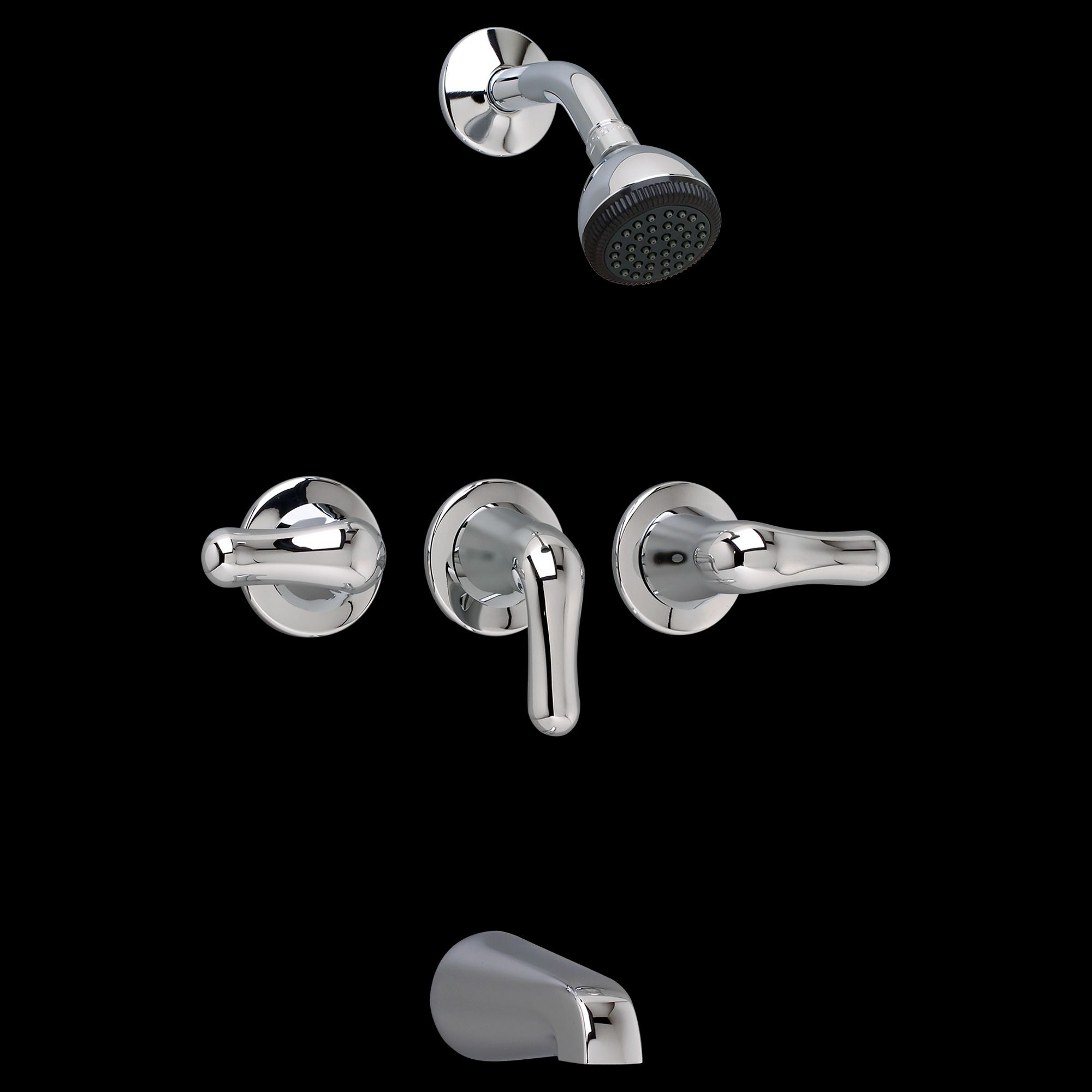 American Standard 3 Handle Tub Shower Faucet | Home Furniture One ...