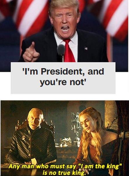 Trump Album On Imgur Funny Games Game Of Thrones Funny Game Of Thrones